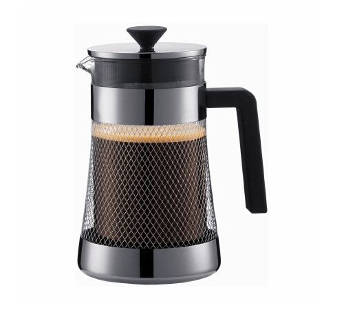 bodum presso la cafeti re piston 8 tasses 1 litre. Black Bedroom Furniture Sets. Home Design Ideas