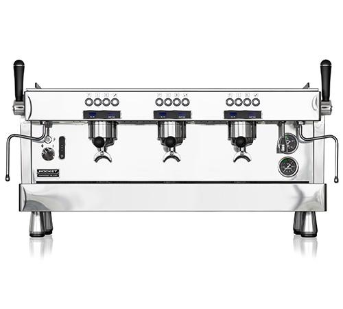 machine professionnelle rocket espresso r9 3 groupes. Black Bedroom Furniture Sets. Home Design Ideas