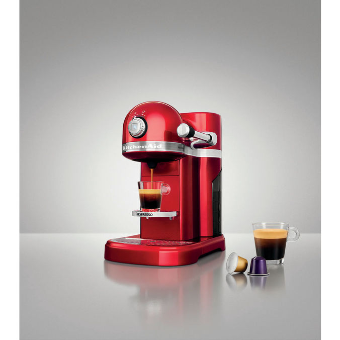 kitchenaid machine nespresso 5kes0503eca 5 rouge pomme d 39 amour. Black Bedroom Furniture Sets. Home Design Ideas