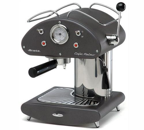 Caf retro mod 1385 anthracite machine expresso ariete for Anthracite cafe