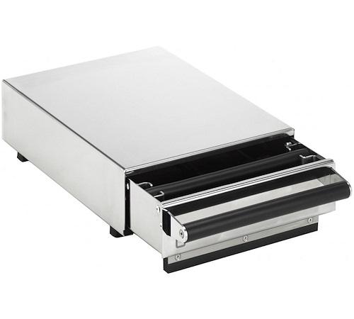 base inox avec tiroir pour moulin caf exclusive m. Black Bedroom Furniture Sets. Home Design Ideas