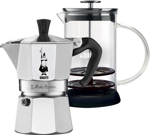 bialetti moka express 3 tasses mousseur lait. Black Bedroom Furniture Sets. Home Design Ideas