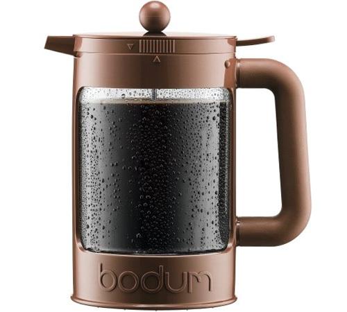 cafeti re piston bodum bean cold brew marron de 150cl. Black Bedroom Furniture Sets. Home Design Ideas