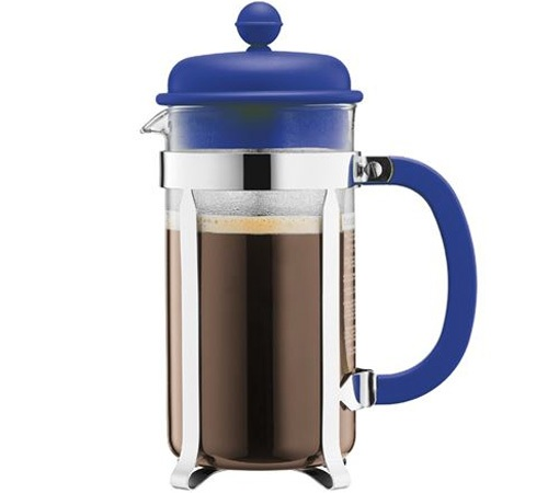 Cafeti re piston bodum color caffettiera 1l bleue - Cafetiere a piston bodum ...
