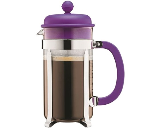cafeti re piston bodum color caffettiera 1l violet. Black Bedroom Furniture Sets. Home Design Ideas