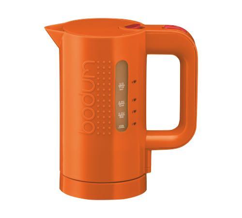 Bouilloire lectrique bodum bistro memphis orange 0 5l - Bouilloire electrique design ...