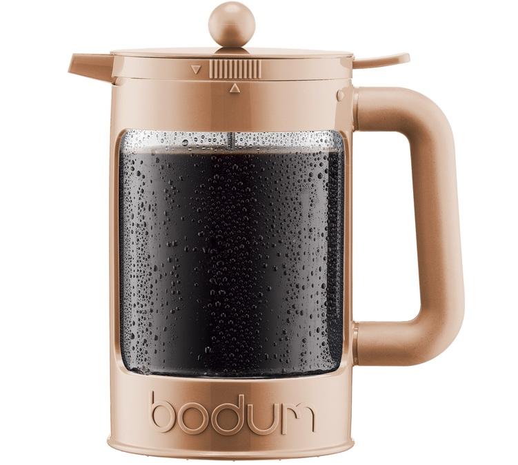 Cafeti re bodum bean cold brew color cream pour caf glac - Fonctionnement cafetiere a piston ...