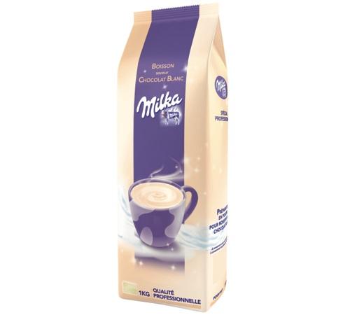 milka chocolat blanc en poudre instantan 1kg. Black Bedroom Furniture Sets. Home Design Ideas