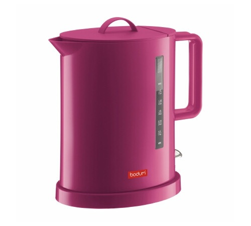 Bouilloire électrique rose Bodum Série Ibis - 1.7 L