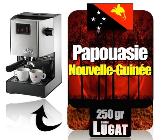 caf moulu pour machine expresso papouasie lionel lugat. Black Bedroom Furniture Sets. Home Design Ideas