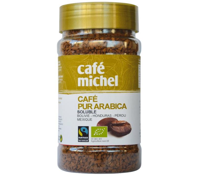 Pure Arabica Instant Coffee 100g Café Michel