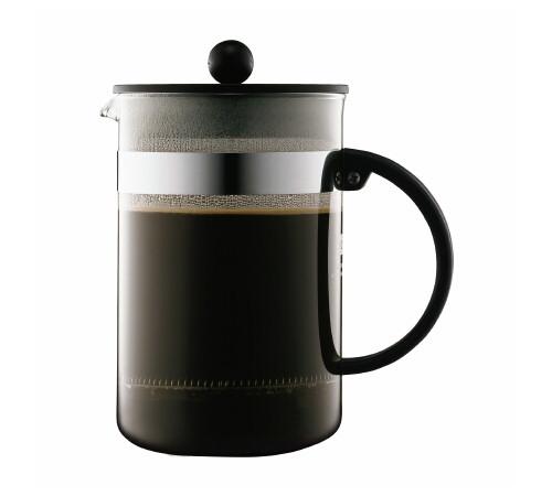 cafeti re piston bodum bistro 12 tasses 1 5l. Black Bedroom Furniture Sets. Home Design Ideas