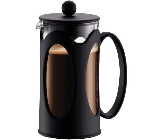 cafeti re piston kenya noire 3 tasses 35 cl bodum. Black Bedroom Furniture Sets. Home Design Ideas