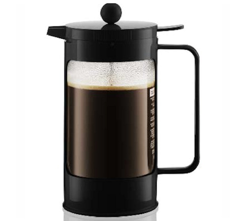 cafeti re piston bodum bean noire 1 l 8 tasses. Black Bedroom Furniture Sets. Home Design Ideas