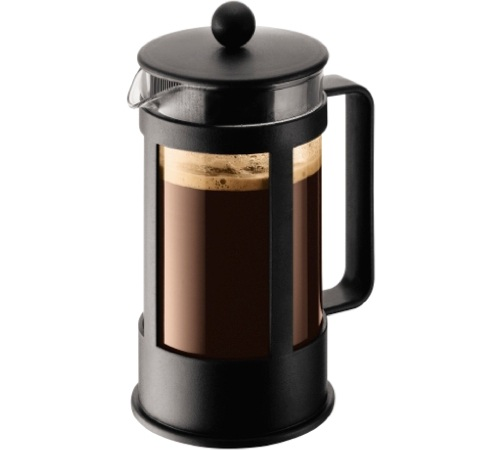 cafeti re piston classic kenya noire 8 tasses 1l bodum. Black Bedroom Furniture Sets. Home Design Ideas