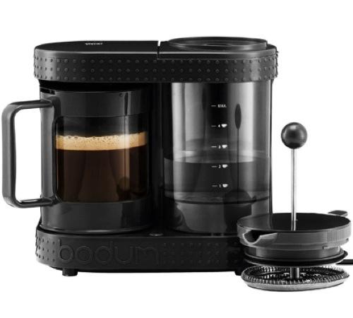 Cafeti re lectrique piston 4 tasses 0 5 l noire 11462 - Utilisation cafetiere a piston ...