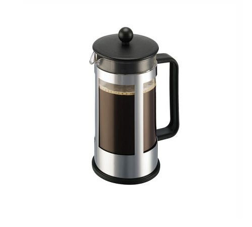 Cafeti re piston kenya chrome bodum 1 l 8 tasses - Cafetiere a piston avis ...