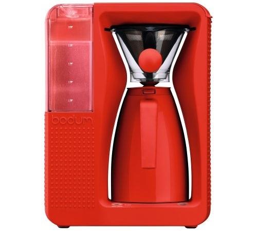 cafeti re filtre isotherme bodum bistro b over rouge. Black Bedroom Furniture Sets. Home Design Ideas