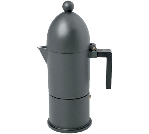first rate outlet new lifestyle Cafetière italienne Alessi La Cupola noire designée par ...