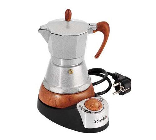Cafeti re italienne lectrique g a t 6 tasses - Comment detartrer une cafetiere sans vinaigre ...