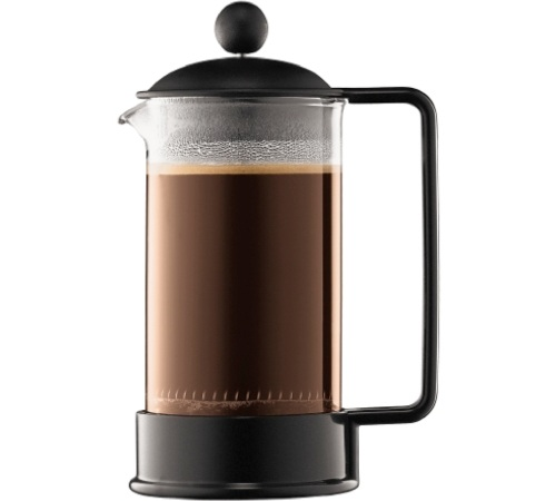 cafetière à piston brazil noire discount 35 cl - bodum