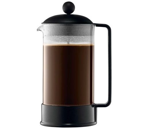 Cafeti re piston brazil noire 1 l bodum - Cafetiere a piston bodum ...