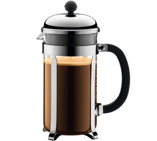 Cafeti re piston bodum chambord 1 l - Cafetiere a piston avis ...