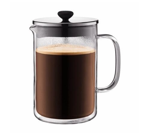 Cafeti re piston double paroi bodum bistro 1 5l 12 tasses - Cafetiere a piston bodum ...