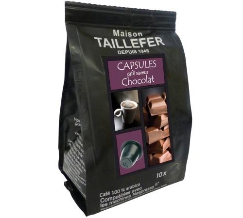 capsules compatibles nespresso chocolat. Black Bedroom Furniture Sets. Home Design Ideas