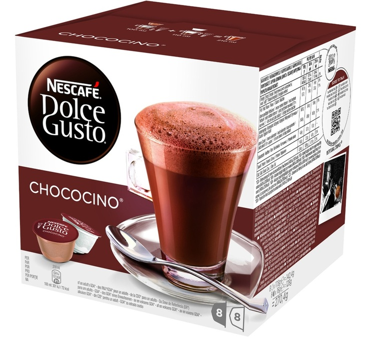 16 capsules nescafe dolce gusto chococino. Black Bedroom Furniture Sets. Home Design Ideas