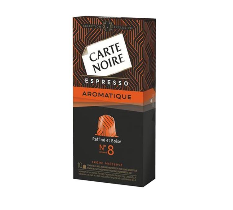 Capsules Carte Noire Espresso n°8 Aromatique Nespresso