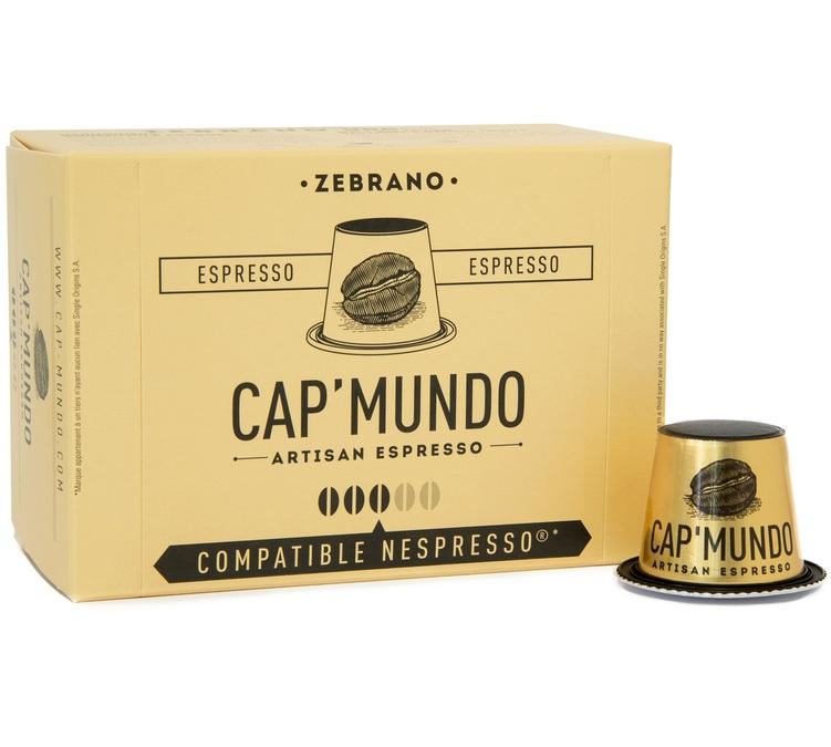 10 capsules nespresso zebrano cap 39 mundo. Black Bedroom Furniture Sets. Home Design Ideas