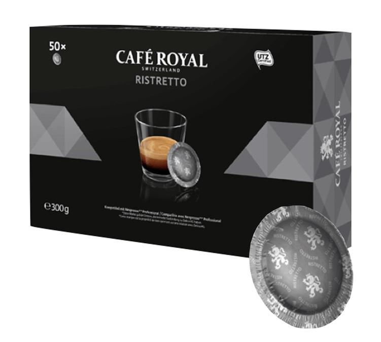 50 capsules Nespresso Pro Ristretto - Café Royal