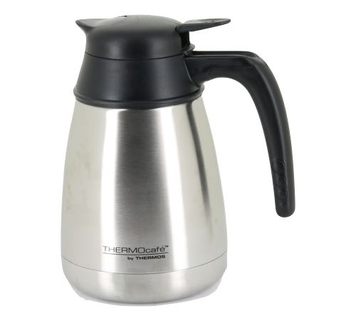 Carafe isotherme inox 1 l thermocaf by thermos - Thermos pour cafe ...
