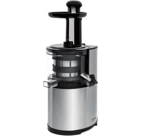 Extracteur de jus Caso SJ200 Slow Juicer Inox brossE
