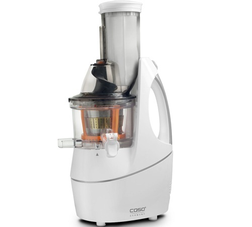 Slow Juicer Sorbet : Extracteur de jus Caso SJW400 Slow Juicer Sorbetiere