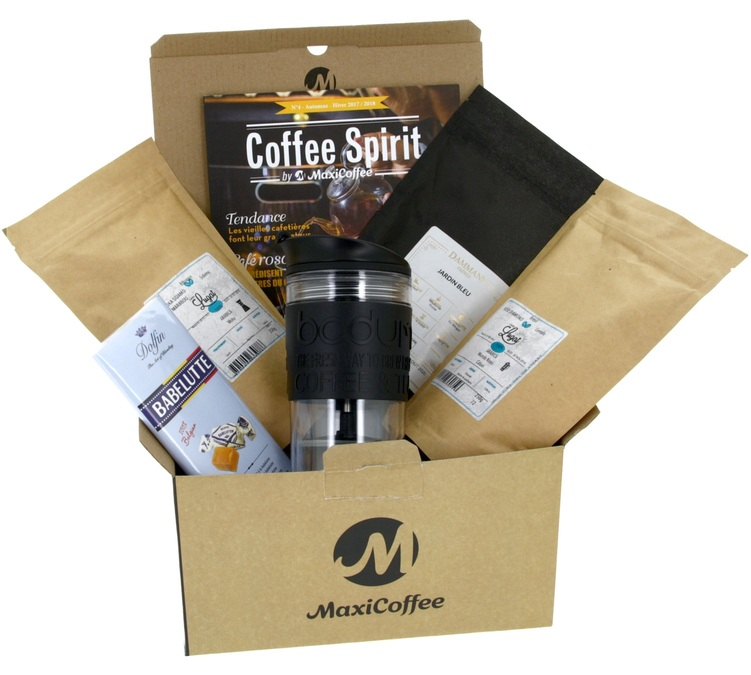 coffret café travel press
