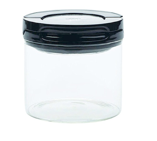 boite caf herm tique fliplock oxo 150g 0 5l en verre transparent. Black Bedroom Furniture Sets. Home Design Ideas