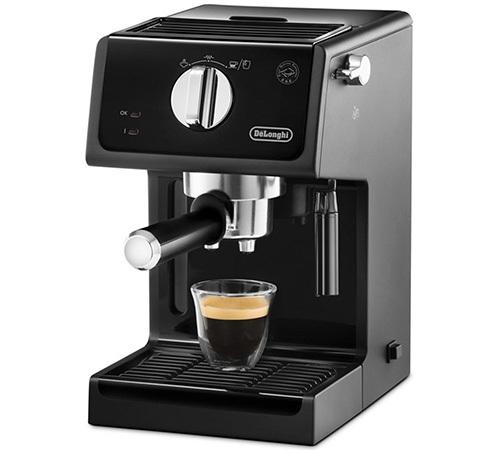 machine caf expresso delonghi ecp noir. Black Bedroom Furniture Sets. Home Design Ideas