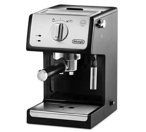 machine caf expresso delonghi ecp noire. Black Bedroom Furniture Sets. Home Design Ideas