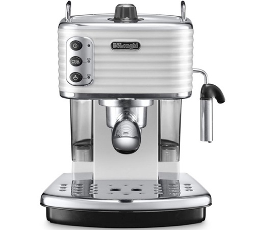 Machine expresso scultura white ecz 351 w delonghi - Marque machine expresso ...