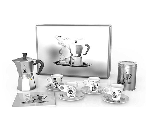 coffret di natale de bialetti moka 3 tasses. Black Bedroom Furniture Sets. Home Design Ideas