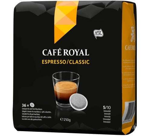 caf royal 36 dosettes senseo espresso. Black Bedroom Furniture Sets. Home Design Ideas