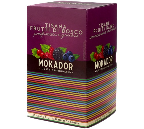 Dosettes de tisane aux fruits des bois bo te de 25 dosettes - Dosette ese grande surface ...