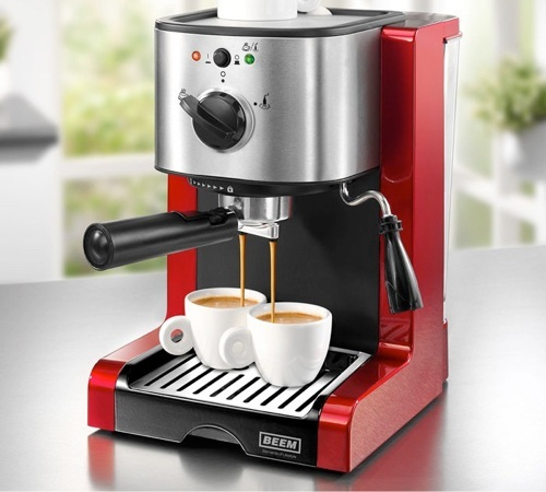 Machine expresso beem espresso perfect red - Marque machine expresso ...