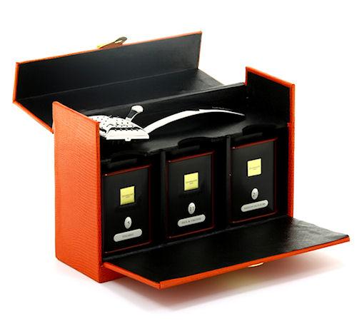 coffret dammann evasion avec cuill re infuseur. Black Bedroom Furniture Sets. Home Design Ideas