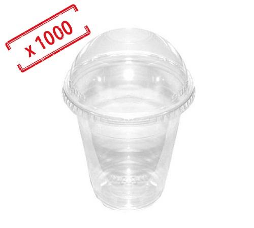1000 gobelets transparents 48cl couvercles bomb s. Black Bedroom Furniture Sets. Home Design Ideas