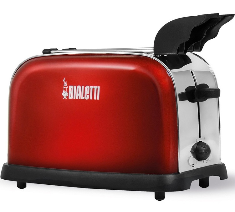 Grille pain Bialetti rouge 2 fentes