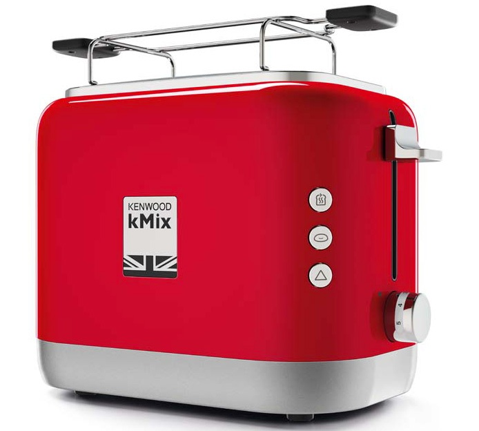 toaster kenwood kmix rouge avec option baguette. Black Bedroom Furniture Sets. Home Design Ideas