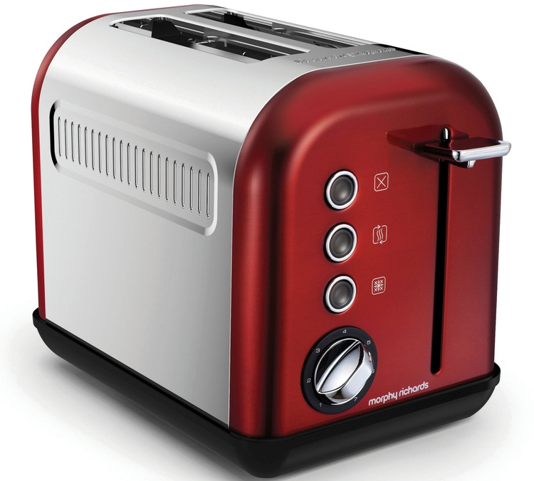 toaster morphy richards accents refresh 2 tranches rouge. Black Bedroom Furniture Sets. Home Design Ideas